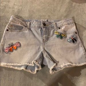 Cat & Jack Demin short whit patches Size10/12